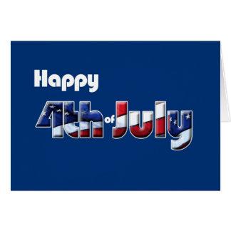 4th July card Patriotic humor