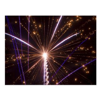 4th July Fireworks Postcard