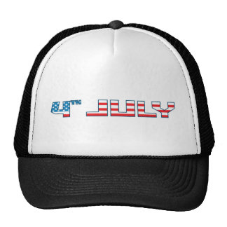 4th July - Independence Day - 4th July Flag Cap