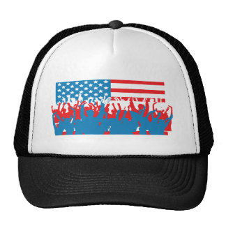4th July - Independence Day - Flag Celebrations Trucker Hat