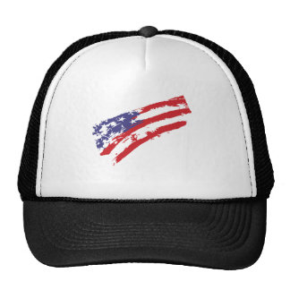 4th July - Independence Day - Graffiti USA Flag Cap