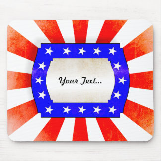4th July Independence Day Mousepads