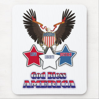 4th July Independence Day Mousepad