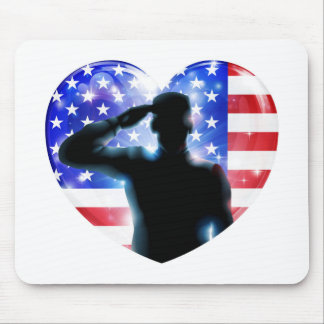 4th July independence day salute Mousemat