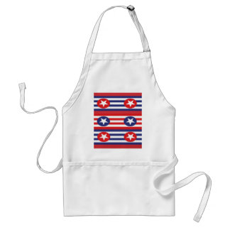 4th july party standard apron