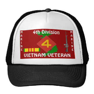 4TH Marine Div Ball Cap 2/r..