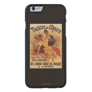 4th Masked Ball at Theatre de l'Opera Carved® Maple iPhone 6 Slim Case