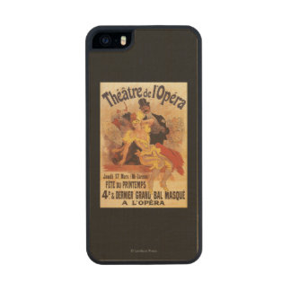 4th Masked Ball at Theatre de l'Opera Carved® Maple iPhone 5 Case