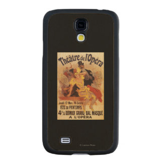 4th Masked Ball at Theatre de l'Opera Carved® Maple Galaxy S4 Case