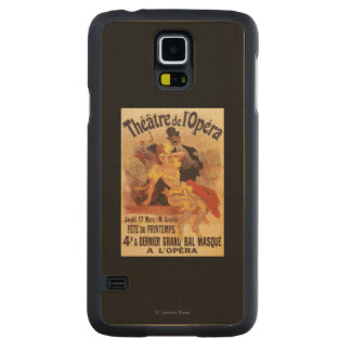 4th Masked Ball at Theatre de l'Opera Carved® Maple Galaxy S5 Case