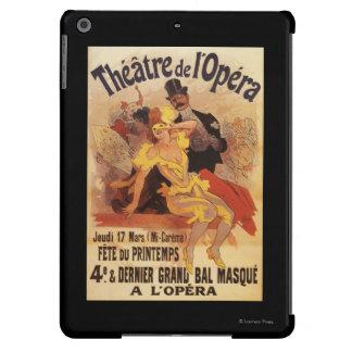 4th Masked Ball at Theatre de l'Opera iPad Air Cover