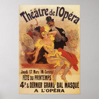 4th Masked Ball at Theatre de l'Opera Poster