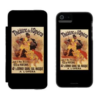 4th Masked Ball at Theatre de l'Opera Incipio Watson™ iPhone 5 Wallet Case