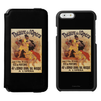 4th Masked Ball at Theatre de l'Opera Incipio Watson™ iPhone 6 Wallet Case