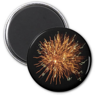 4th of July 6 Cm Round Magnet