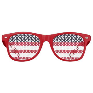 4th of July American Flag Independence Day Retro Sunglasses