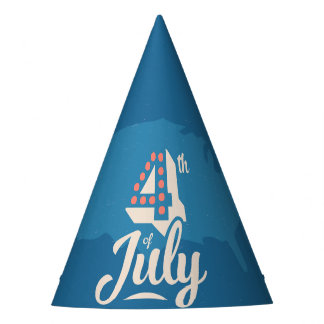 4th of July America's Birthday Party Hat