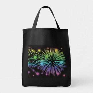 4th of July and New Years tote bags