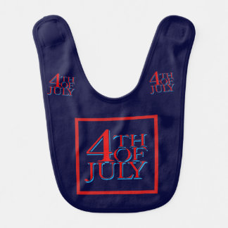 4th of July - Baby Bibs
