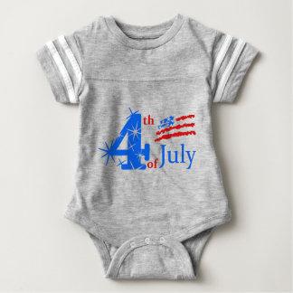 4th of July Baby Bodysuit