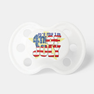 4th of July Baby pacifer Baby Pacifier