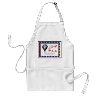 4th of July bbq party aprons