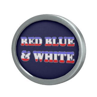 4th of July Belt Buckle