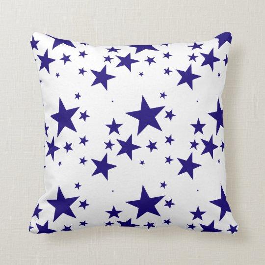 4th of July Blue Star Splash Pattern on