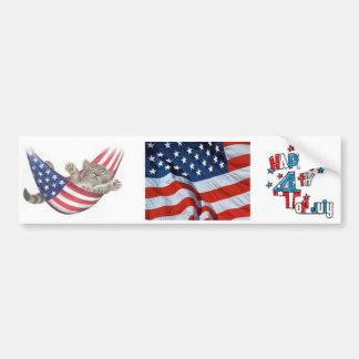 4th of july bumper sticker
