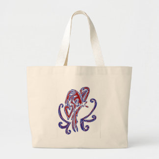 4th of July Butterfly Tote Bags