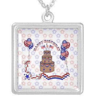 4th of July Celebration Custom Necklace