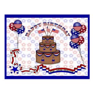 4th of July Celebration Postcard