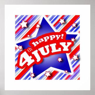 4th of July Celebration Poster