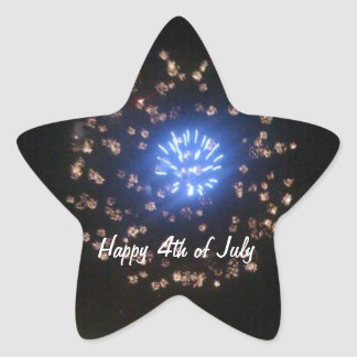 4th of July Celebration Sticker