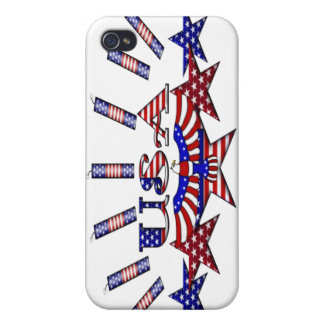 4th of July Crackers iPhone 4/4S Case