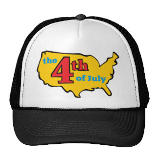 4th of july crafts trucker hats