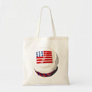 4th of July cupcake tote bag