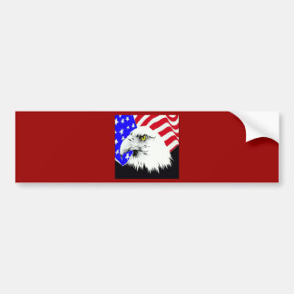 4th of July Eagle Bumper Stickers