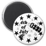 4th of July Firecracker Fridge Magnets