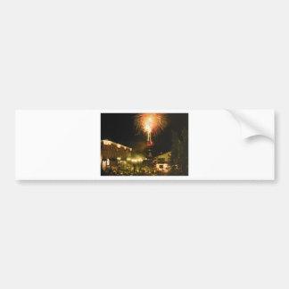 4th of July Fireworks Aspen CO Bumper Stickers