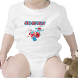 4TH OF JULY FIREWORKS BABY BODYSUITS