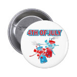 4TH OF JULY FIREWORKS BADGE