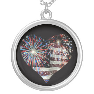 4th of July fireworks necklace