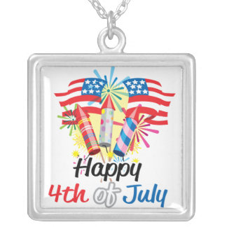 4th of July Fireworks Necklaces