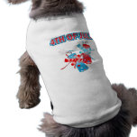 4TH OF JULY FIREWORKS PET TEE
