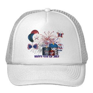 4TH OF JULY TRUCKER HAT