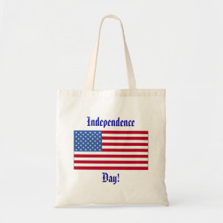 4th of July Independence Day Bag Tote Bags