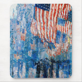 4th of July , Independence Day Fine Art Mousepad