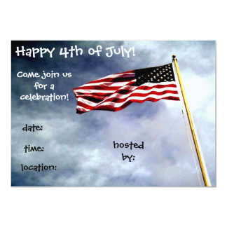 4th of July Invitation