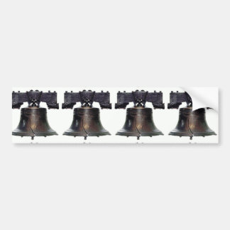 4th of July Liberty Bell Bumper Sticker